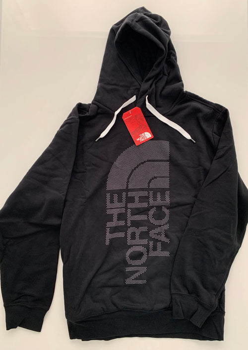 The North Face Men's Trivert Hoodie-Black/White Stars