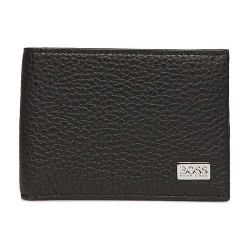 Boss Hugo Boss Crosstown 6cc Wallet Leather Black