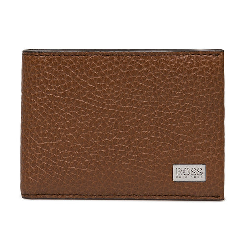 Boss Hugo Boss Crosstown 6cc Wallet Leather Cognac