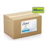 Dove Soap Bar Beauty Moisturizing Cream Bar 135g (Box of 48 packs)