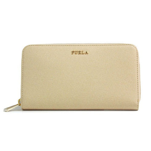 Furla Babylon Zip Around Wallet Acero (771374)