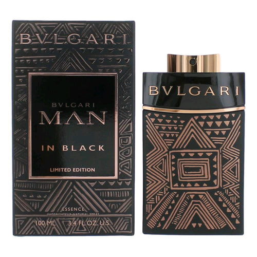 Bvlgari Man In Black Essence EDP 3.4 oz 100 ml