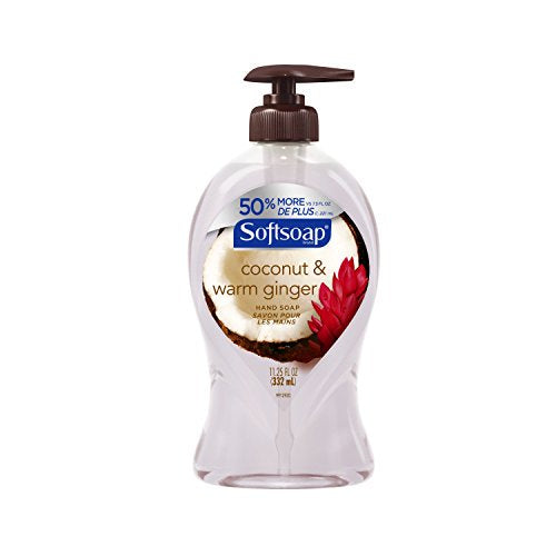 Softsoap Hand Soap Coconut & Warm Ginger 11.25 oz