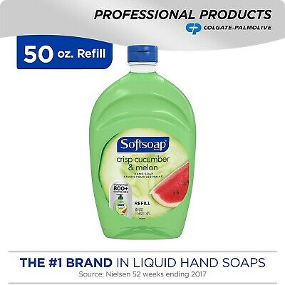 Softsoap Hand Soap Crisp Cucumber & Melon 50 oz 1.47 L