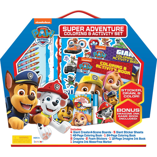 Paw Patrol Super Adventure Coloring and Activity Set