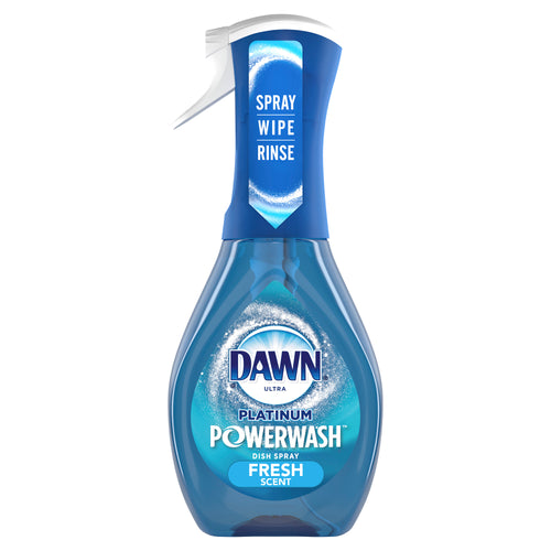 Dawn Platinum Powerwash Dish Spray, Dish Soap, Fresh Scent, 16 Fl Oz