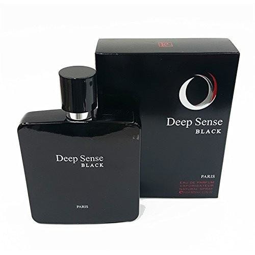 Deep Sense Black for Men EDP 3.3 oz 100 ml