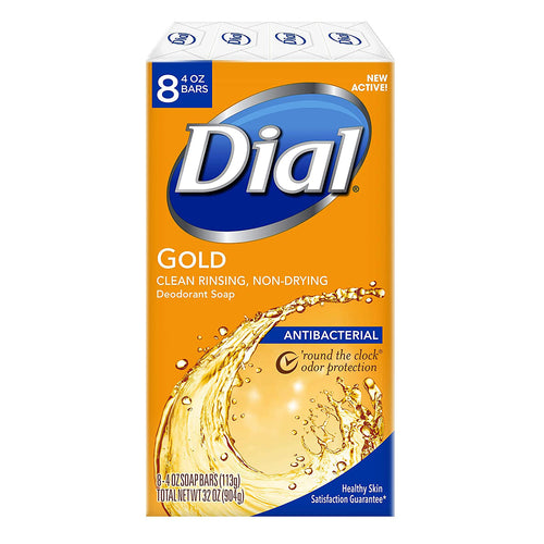 "Dial Gold AntiBacterial Soap Bars ""8 Bar Soaps"""