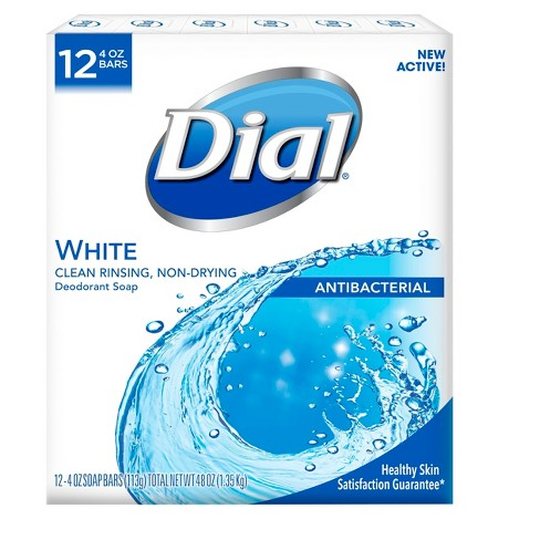 Dial Clean and Refresh White Bar Soap - 12ct