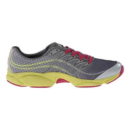 Merrell Allout Flash Trail Running Shoe Light Grey/Yellow (J03974)
