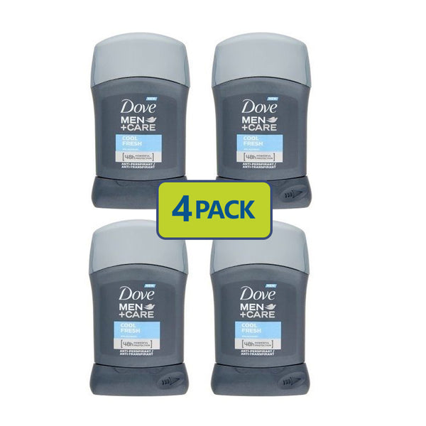 "Dove Men Anti Transpirant Deodorant ""4-PACK"""