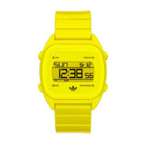 Adidas Sydney Quartz Neon Yellow Dial Unisex Digital Watch (ADH2891)