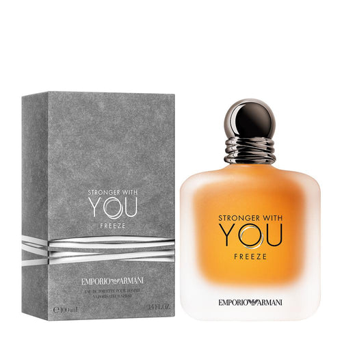Emporio Armani Stronger With You Freeze EDT 3.4 oz 100 ml