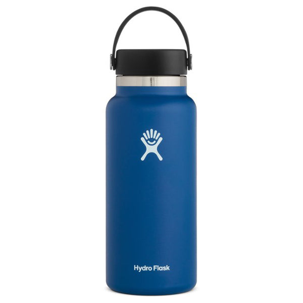 Hydro Flask Wide-Mouth Vacuum Water Bottle, Cobalt - 32 fl. oz.