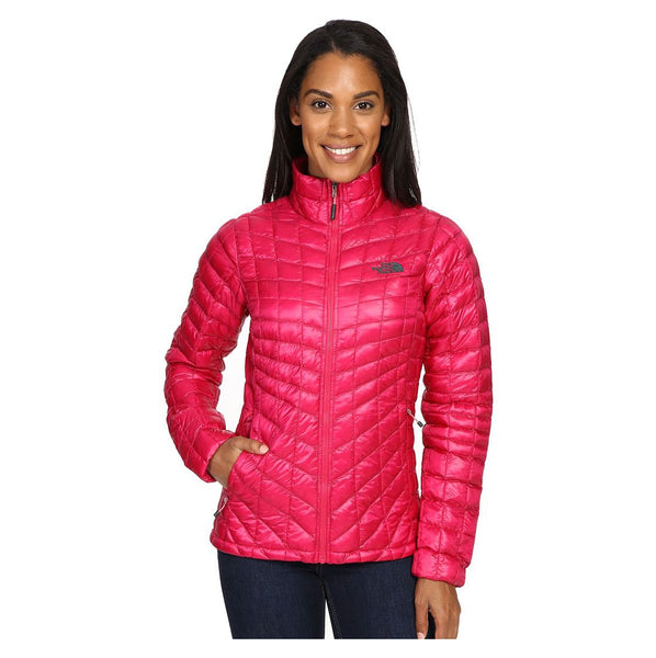 The North Face Women's Thermoball Full Zip Jacket Cerise Pink