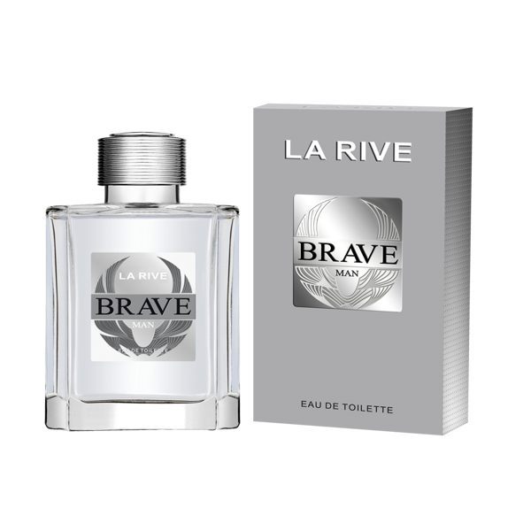 Brave Man by La Rive, 3.4 oz 100 ml EDT Spray for Men