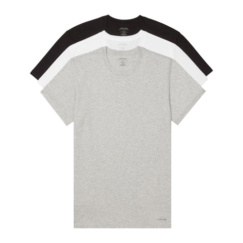 Calvin Klein 3-Pack Cotton Crewneck T-Shirt (NB4011MP1)