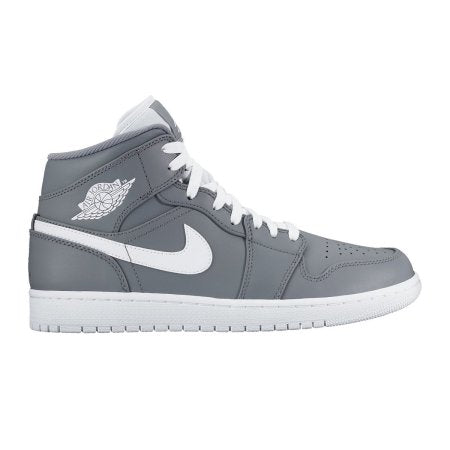 low priced de0d2 5d40b Nike Jordan Men s Air Jordan Mid Basketball Shoe Cool Grey White White (554724  036).  90.00  190.00. Size