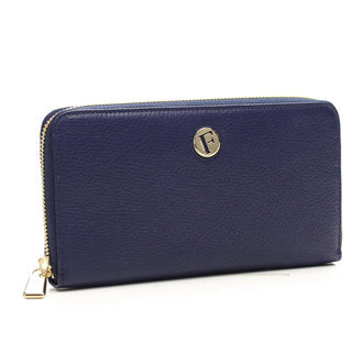 Furla Ph25 Piper XL Zip Around Long Wallet Navy (758875)