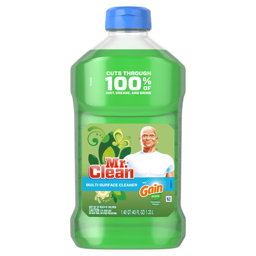 Mr. Clean with Gain Original Scent Multi-Surface Cleaner, 45 fl oz