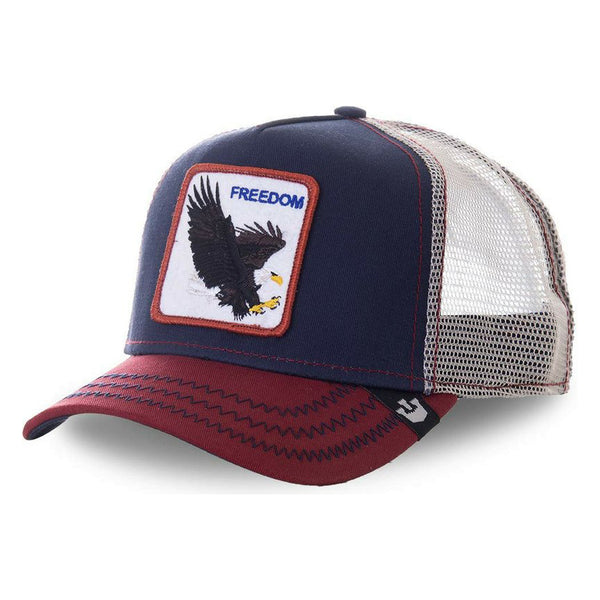 Goorin Bros Animal Farm Snap Back Trucker Hat Freedom Eagle/Navy