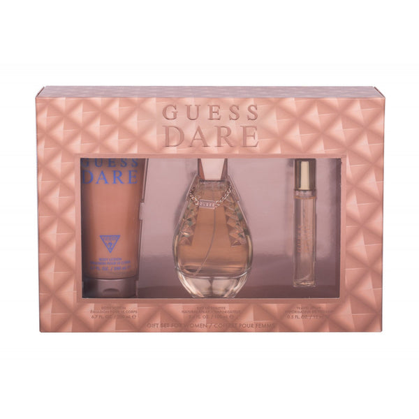 Guess Dare Gift Set 3 pc EDT 3.4 oz 100 ml Women