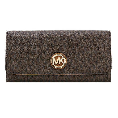 Michael Kors Fulton Flap Continental Brown/Acr (35F8GFTE1B)