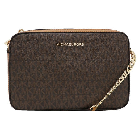 Michael Kors Jet Set MD Conve Pouchtte Crossbody Bag Navy (35T8GTTU2L)