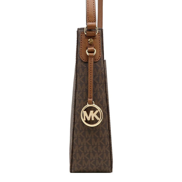 Michael Kors Jet Set Travel LG Messenger Brown (35F8GTVM7B)