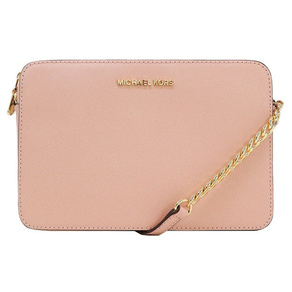 d3ccb2c77187 Michael Kors Women's Large East West CrossBody Bag Pastel Pink (35T8GTTC9L)  ...