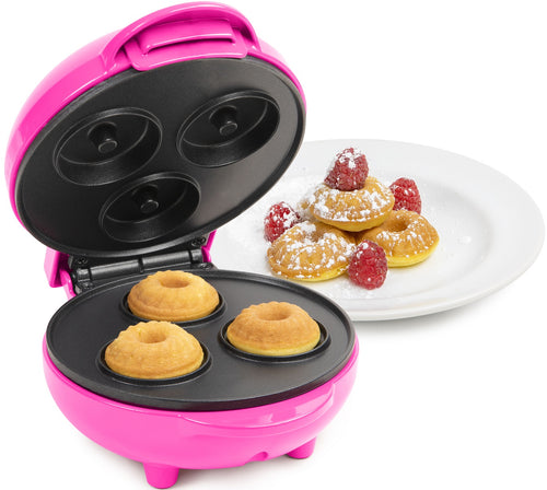 Nostalgia Hot Pink My Mini Bundt Cake Maker