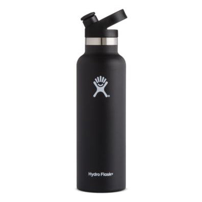 Hydro Flask Standard-Mouth Vacuum Water Bottle with Sport Cap - 21 fl. oz.