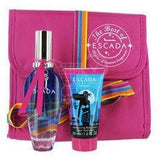 Escada Island Kiss Gift Set EDT 1.6 oz + Body Milk 1.6 oz + Cosmetic Bag