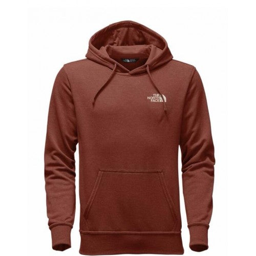 The North Face Men's Jumbo Half Dome Hoodie - Ketchup Red Heather/Vintage White