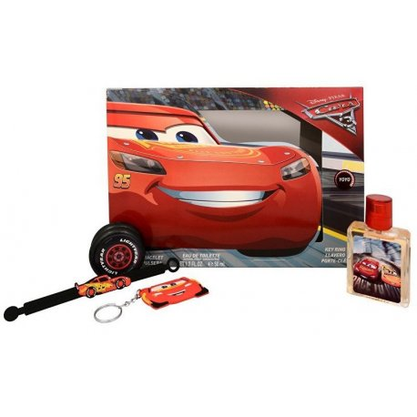 Disney Cars 3PC Gift Set EDT 1.7 oz 50 ml