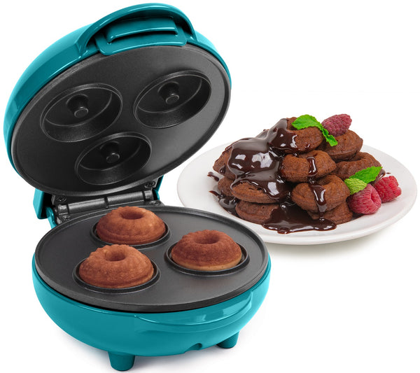 Nostalgia Dark Teal My Mini Bundt Cake Maker