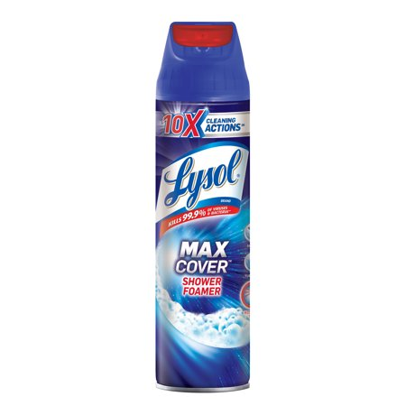 Lysol Max Cover Shower Foamer 19 oz
