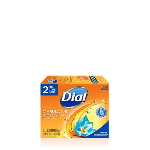 Dial Marula Oil Antibacterial soap 2 Skin Care Bars