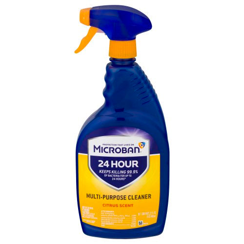 Microban 24 Hour Multi-Purpose Cleaner and Disinfectant Spray - Citrus Scent - 32 fl oz