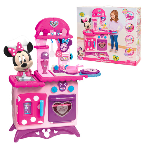 Minnie Mouse Flipping Fun Play Kitchens 13 Pieces