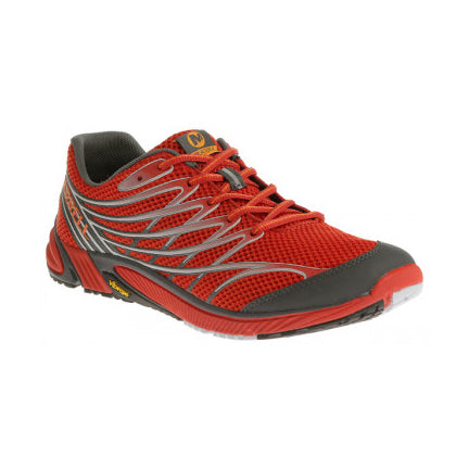 Merrell Men's Bare Access 4 Running Shoes Molten Lava (J03927)