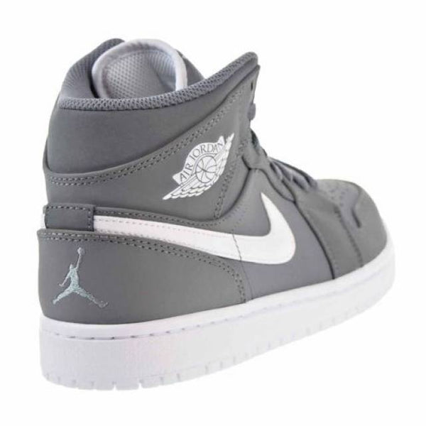sports shoes b53a6 1891b ... Nike Jordan Men s Air Jordan Mid Basketball Shoe Cool Grey White White (