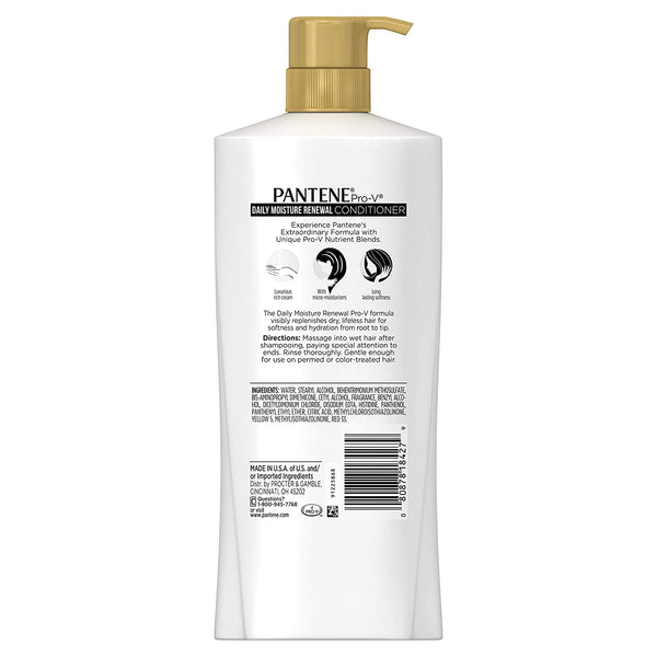 Pantene Pro V Daily Moisture Renewal Conditioner  38.2 fl. oz. With Pump