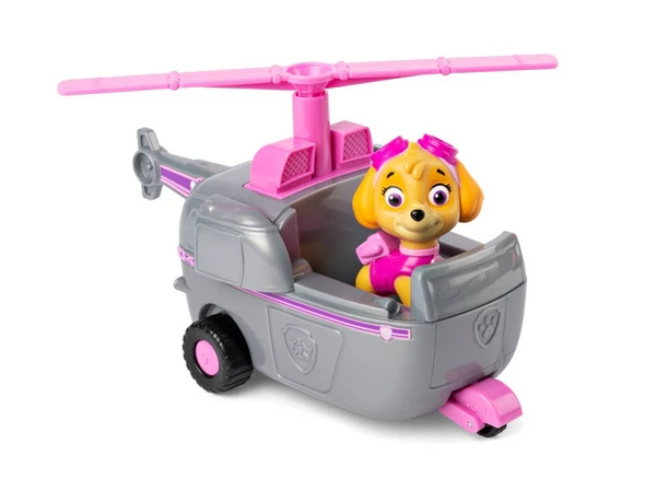 Paw Patrol Vehicle with Action Figure Skye Helicopter