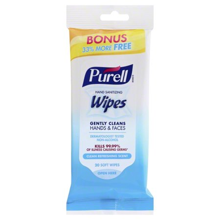 Purell® Fresh Hand Sanitizing Wipes 20ct (Pack of 3)