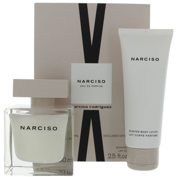 Narciso Rodriguez Gift Set for Women, 2 Piece EDP 3.0 oz / Body Lotion 2.5 oz