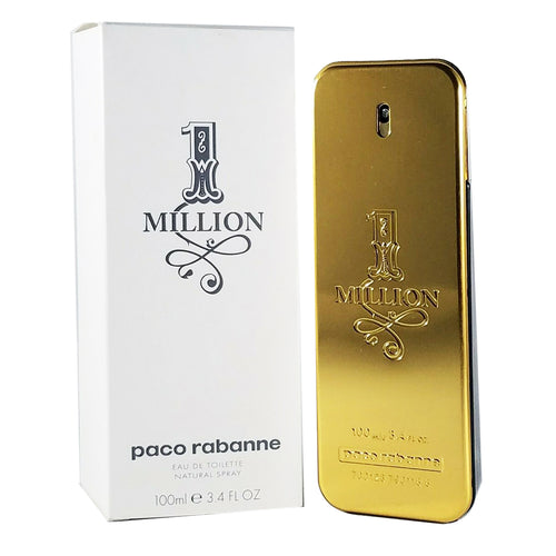 Paco Rabanne One Million EDT 3.4 oz 100 ml Men TESTER (white box)