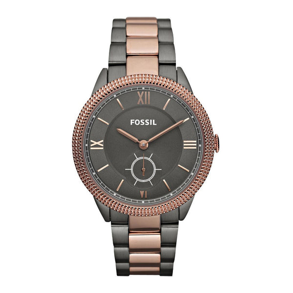 Fossil Sydney Smoke and Rose Gold Watch (ES3068) Women