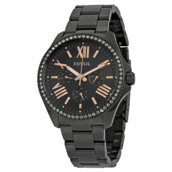 Fossil Cecile Multi-Function Watch Black (AM4522) Women