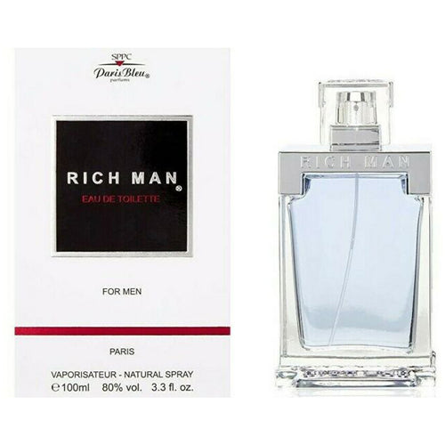 Paris Bleu Rich Man EDT 3.4 oz 100 ml Men